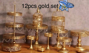 Cake stand for rent Gold