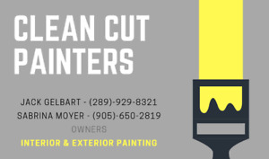 Interior & Exterior Painting/Staining (Clean Cut Painters)
