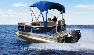 2017 SPECIAL- NEW COMPACT PONTOON WITH 20HP MOTOR