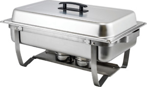 PROFESSIONAL CATERING/CHAFFER WITH WARMING UNIT