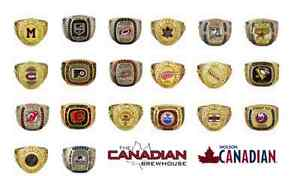COMPLETE SET OF NHL MOLSON RINGS!! Only 225$.................... London Ontario image 2