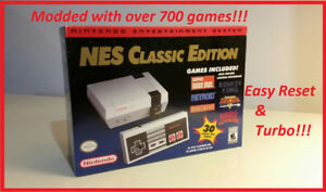 NES Classic Edition Modded! 700 Games! Can mod YOUR NES Classic!
