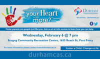 Foster Care Info Session, Scugog