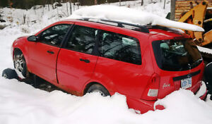 2002 Ford Focus Wagon – Great Parts Car with Good Winter Tires