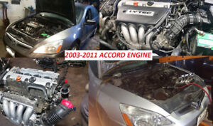 2003 2007 HONDA ACCORD ENGINE SWAP LOW PRICES