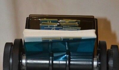Vintage Rolodex Sw-24c Plastic Large Round File Index Cards Swivel Rotary Office