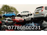 Scrap my car today used old damaged vehicle collection cash on pick up today
