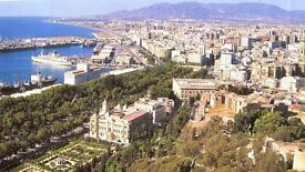 Costa del Sol, Spain, Erasmus students Malaga University area, beach, sun, spanish