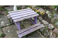 garden table for children