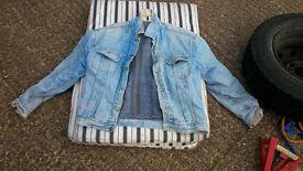 lee stormrider vintage denim jacket