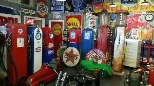 Wanted! Old signs petrol pumps pedal cars oil bottles Cash paid Canberra City North Canberra Preview