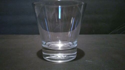 CROWN ROYAL ITALY WHISKEY DOUBLE OLD FASHION LOWBALL ROCKS GLASS