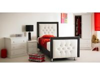 Charlie Bed With Dual Sided Memory Foam Mattress