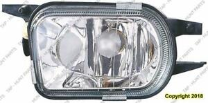 Fog Light Driver Side Without Amg With Bi-Xenon High Quality Mercedes S-Class 2003-2009