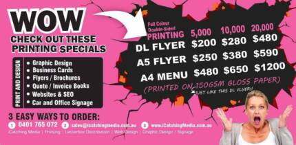 WOW CHECK OUT THESE PRINTING SPECIALS Sydney Region Preview