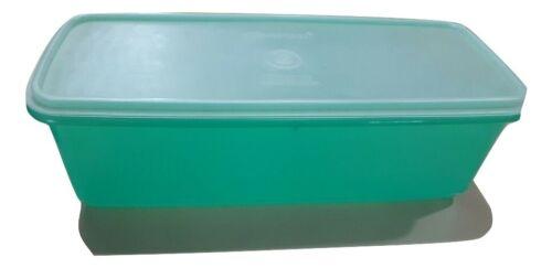 Tupperware Green Jade Jadite 782 784  Bread Vegetable Veggie Celery Keeper