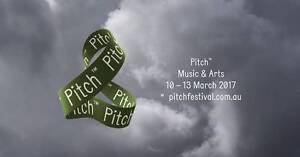 Selling 2 x Tickets to Pitch Music and Arts Festival Sydney City Inner Sydney Preview