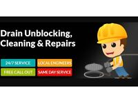 Drain unblocking, Drain Clearing Service, blocked sink, toilet, shower, gutters, Sewer. Rods Jetting