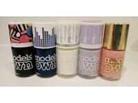 MODELS OWN nail polish/varnish bundle- 5 FULL bottles