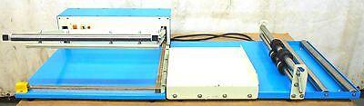 Sealer Shrink Wrap System Aie-1818l 110volt 1000watts W Film Dispenser Rack
