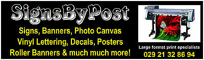 Signature Signs by post