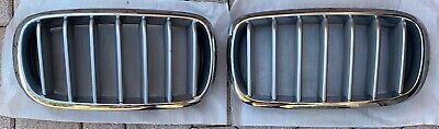2014-2017 BMW X5 F15 F16 GRILLES  left & right GRILL OEM