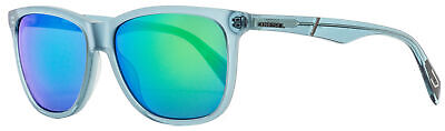 Diesel Rectangular Sunglasses DL0222 87Q Transparent Turquoise  57mm (Shades Diesel)