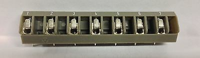Wieland Electric Electrovert 25.137.0753 7 Position Connector Marked Nos