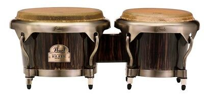 Pearl Elite Series Wood-Fiber Bongos - Dark Chocolate