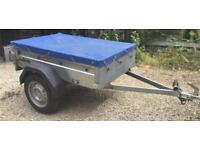 BRENDERUP 1105s Camping and Tip Run trailer