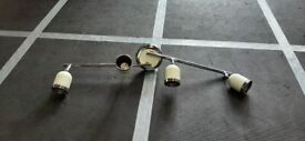 Spotlight ceiling bar with 4 lights £10, collect N14