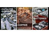 Wanted scrap metals