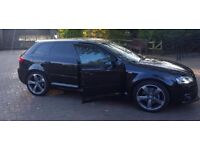 Audi A3, S-line black eddition.