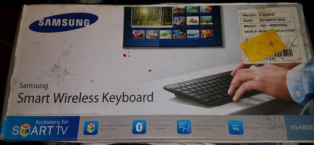 samsung smart tv wireless keyboard and mouse