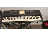 Yamaha PSR-330 Keyboard With Stand