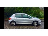 Peugeot 307 1.6, One Year MOT, 79000 Miles, Very Clean