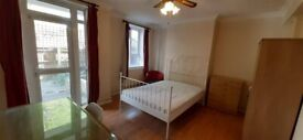 LARGE Double Room w Garden / Bow, Stratford, ZONE 2 / All Bills Inc / Available NOW !!!