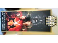 COLLECTABLE, LIFE SIZE, STAND-UP CUT OUT, ADVERTISING STAR WARS 3 FILM