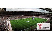 NO EXPERIENCE, IMMEDIATE START– Cleaners required for the London Double Header at TWICKENHAM STADIUM