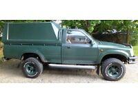 Upgraded 1997 Toyota Hilux single Cab MKIII 2.4 Diesel w/Truckman
