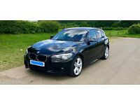 2014 (64 reg) BMW 1 Series 118D M Sport 5 Door (F20) - Automatic gearbox.