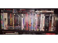 Over 70 DVDs including box sets - horrors, comedies, classics