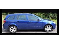CHEAP DIESEL VAUXHALL ASTRA ESTATE 5 door family car 1.3L (2007) year mot tow bar cheap tax