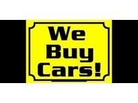 WE BUY ANY CAR - DEAD OR ALIVE -