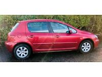 CHEAP DIESEL PEUGEOT 307 S HDI 2.0L (2005) year mot 5 door