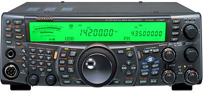 Kenwood TS-2000 Cool Blue Green led Light display