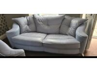2 Blue sofa quick sale