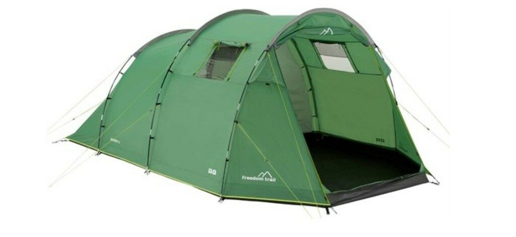 Freedom Trail Sendero 4 Man Tent With Universal Canopy