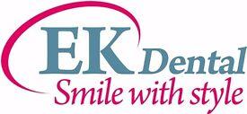 Qualified part time dental nurse-East Kilbride