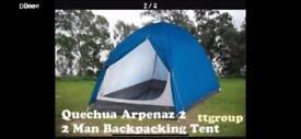 Quechua 2 person tent